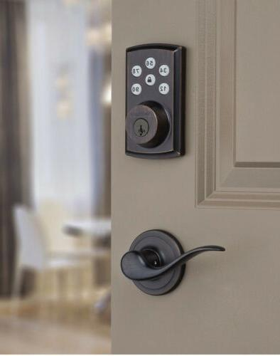 910 and 912 smart home deadbolts