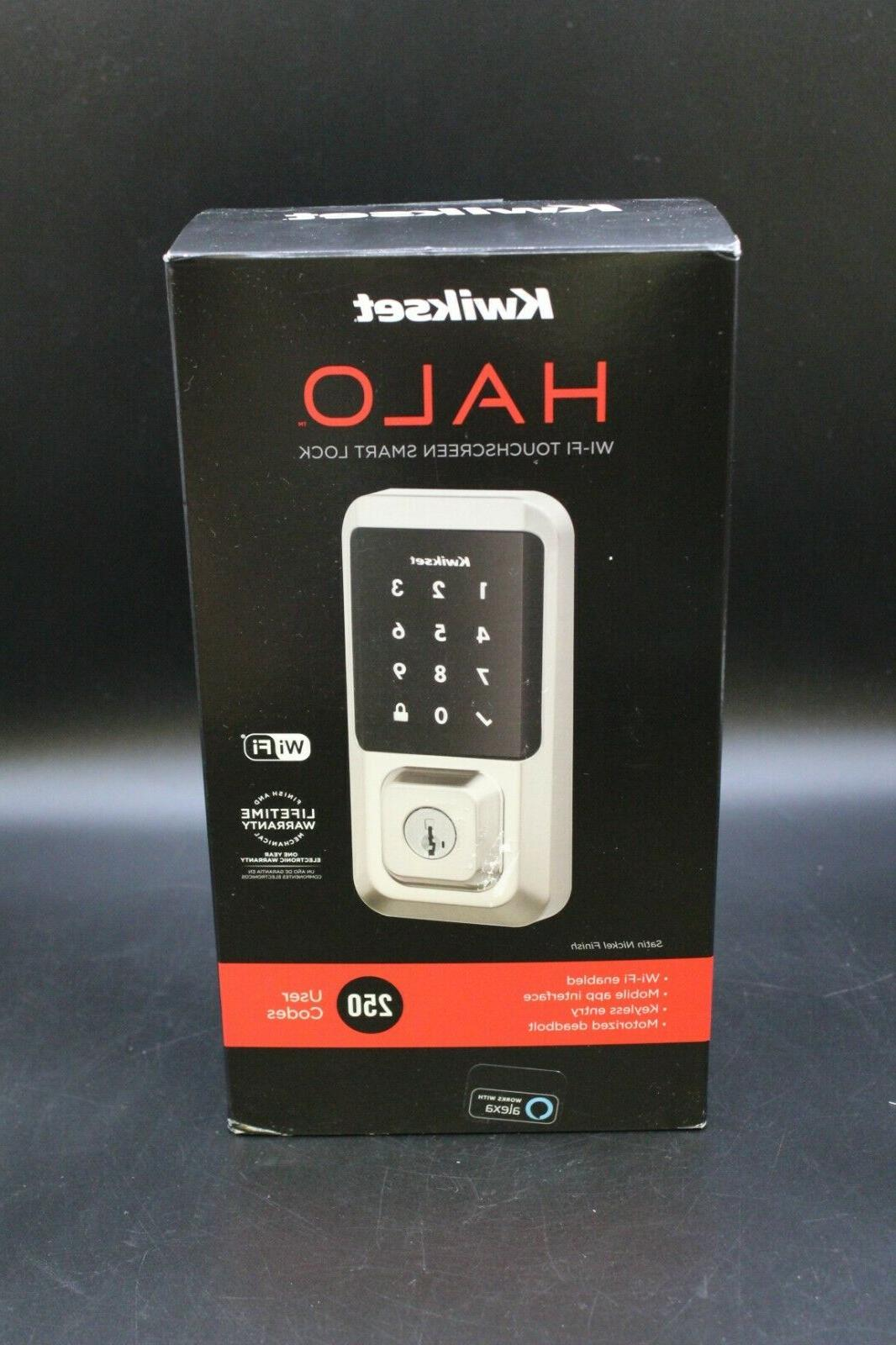 halo touchscreen wi fi enabled smart lock