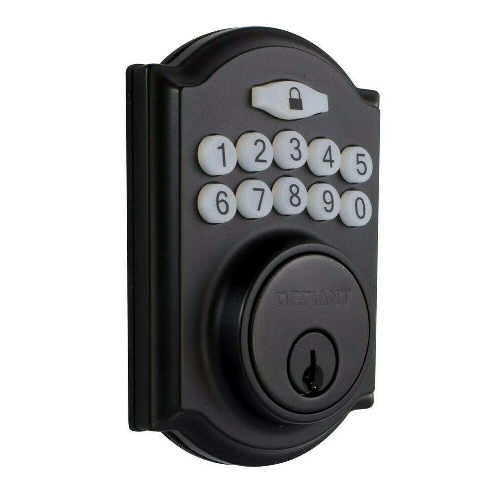 Smart Lock with Single Cylinder Electronic Deadbolt
