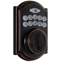 smart door lock with single cylinder electronic