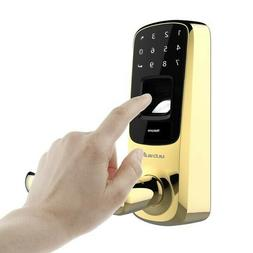 Ultraloq UL3-BT-BB  Bright Brass Fingerprint Smart Door Lock