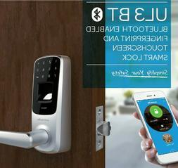 Ultraloq UL3-BT-SN Fingerprint Touchscreen Keyless Smart Doo